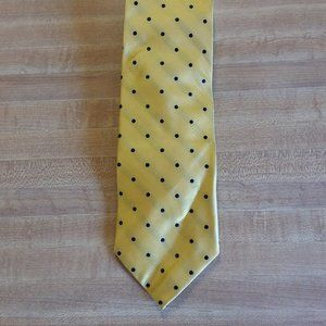 Land End's Gold with Blue Dots Tie